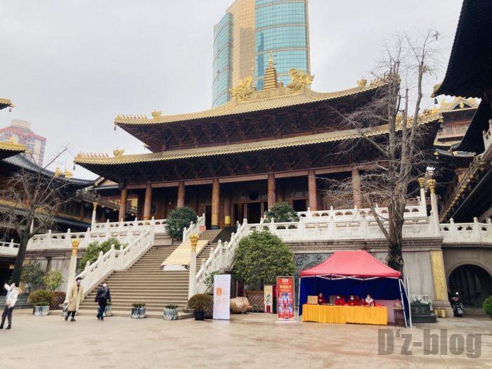 上海静安寺中庭⑦