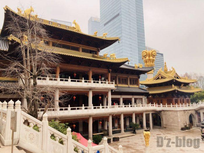 上海静安寺中庭⑫