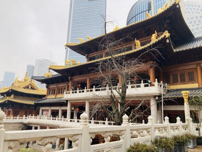 上海静安寺中庭⑬