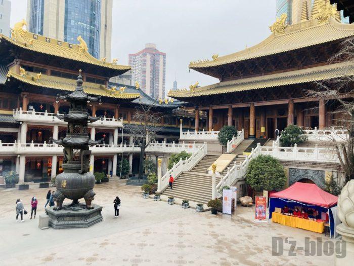 上海静安寺中庭⑭