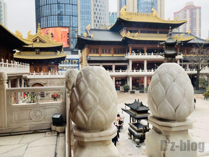 上海静安寺中庭⑮b