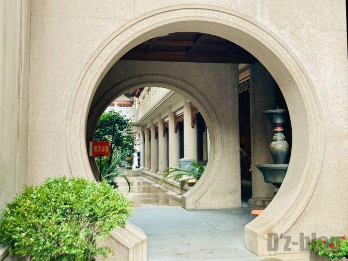 上海静安寺中庭⑯