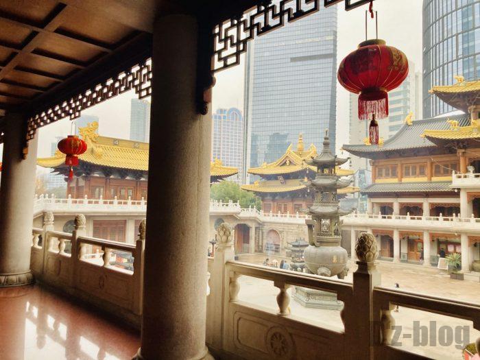 上海静安寺中庭⑰