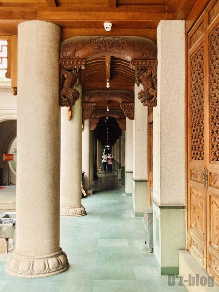 上海静安寺廊下