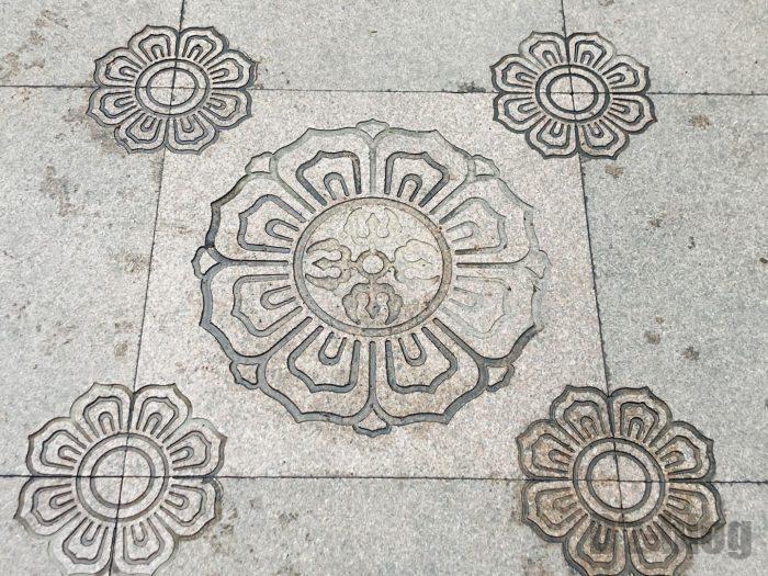 上海静安寺紋