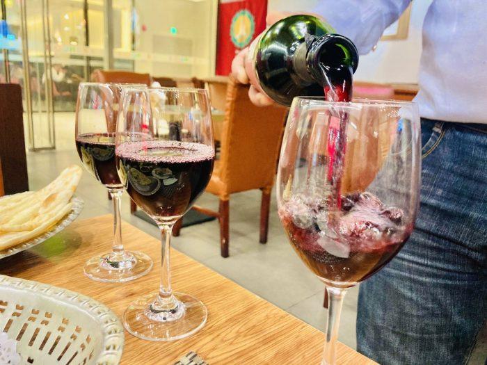 上海RANGOLI赤ワイン