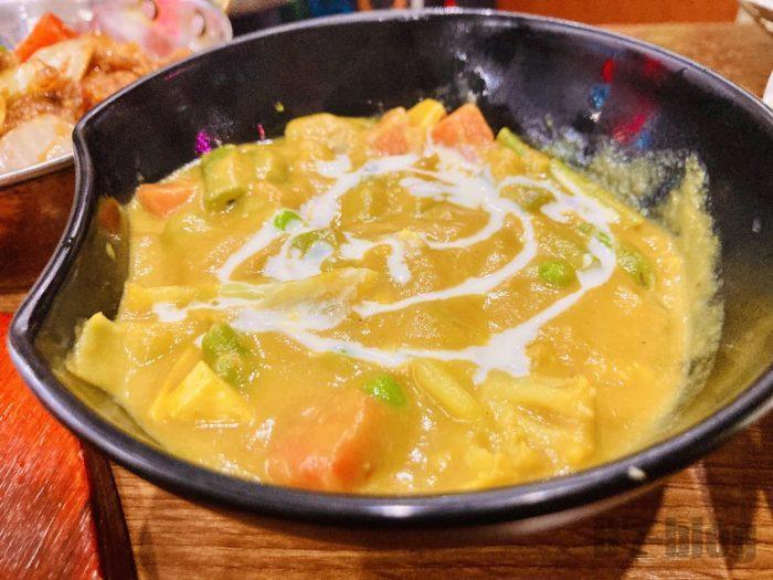 上海RANGOLI野菜カレー