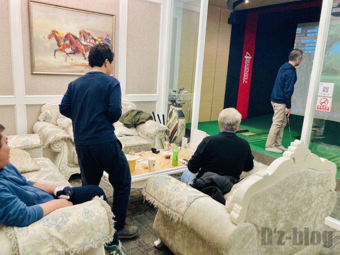 上海g-nextVIP室内様子