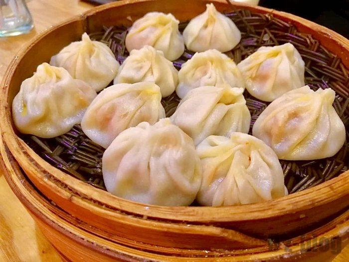 上海小籠包カニ餡