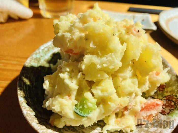 上海お箸ポテトサラダ