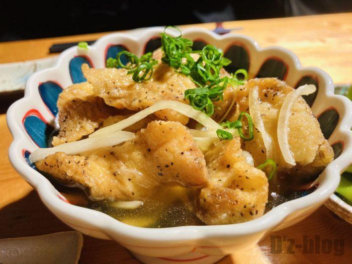 上海お箸鶏皮