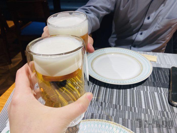 上海アマービレ乾杯
