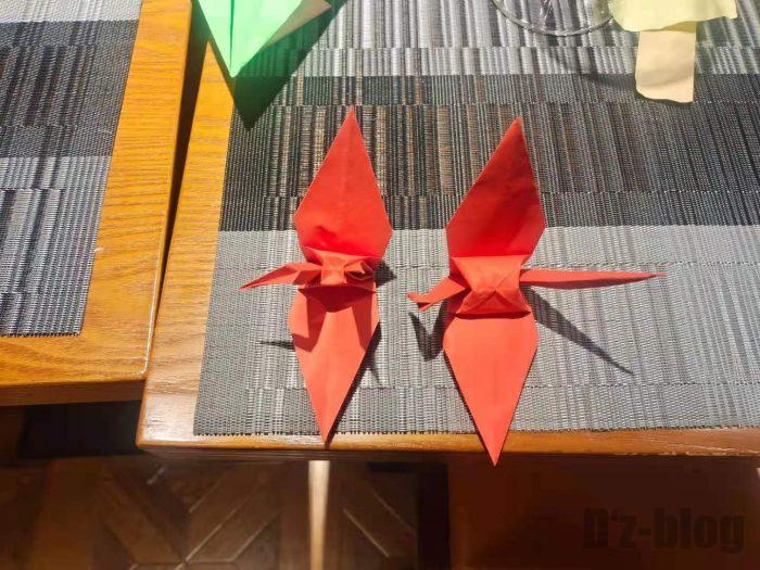 上海アマービレ折り鶴