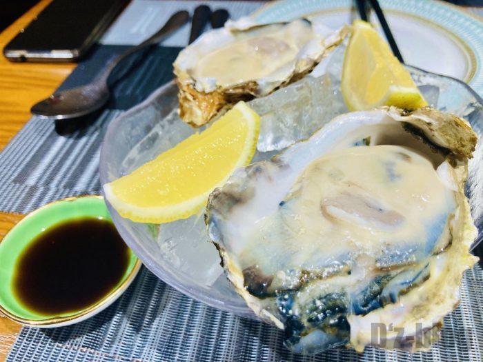 上海アマービレ生牡蠣