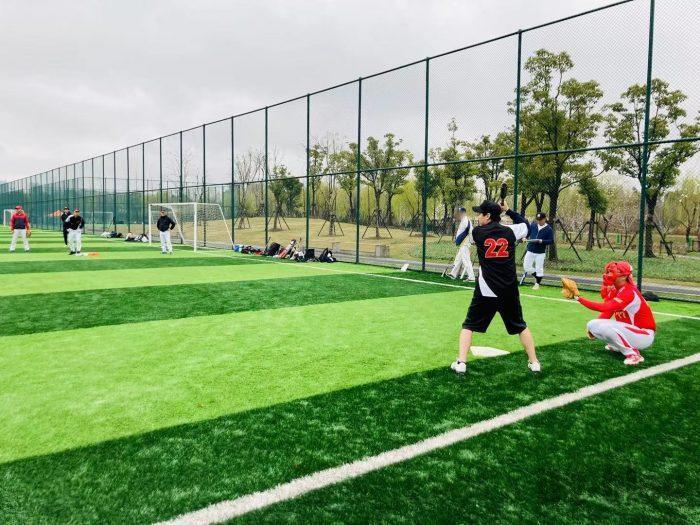 上海ソフトボール②