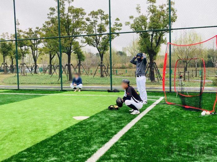 上海ソフトボール③