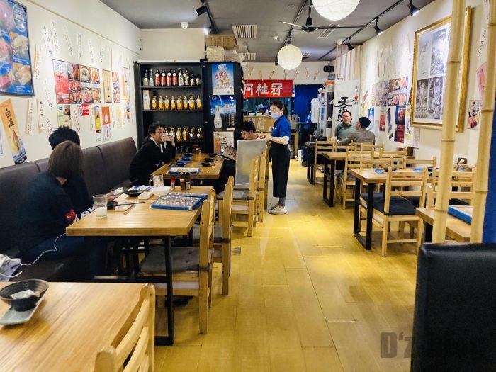 上海ビーフマン店内