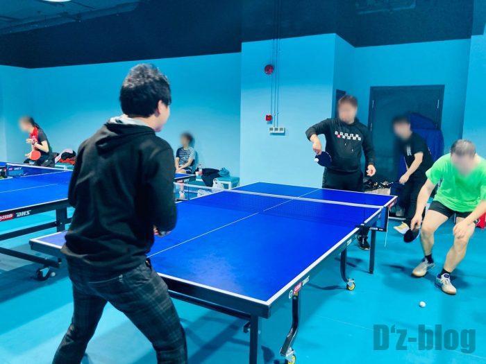 上海乒乓球俱乐部①