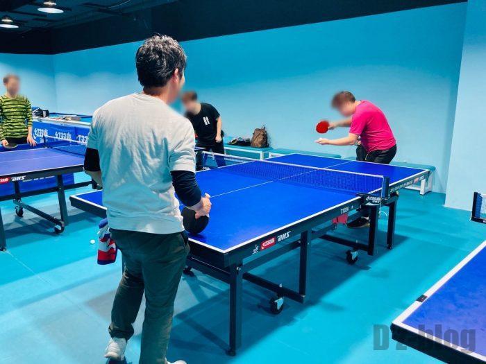 上海乒乓球俱乐部③