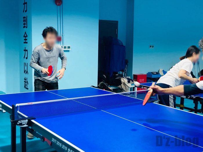 上海乒乓球俱乐部④