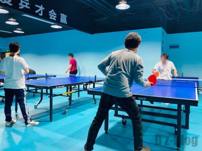 上海乒乓球俱乐部⑤