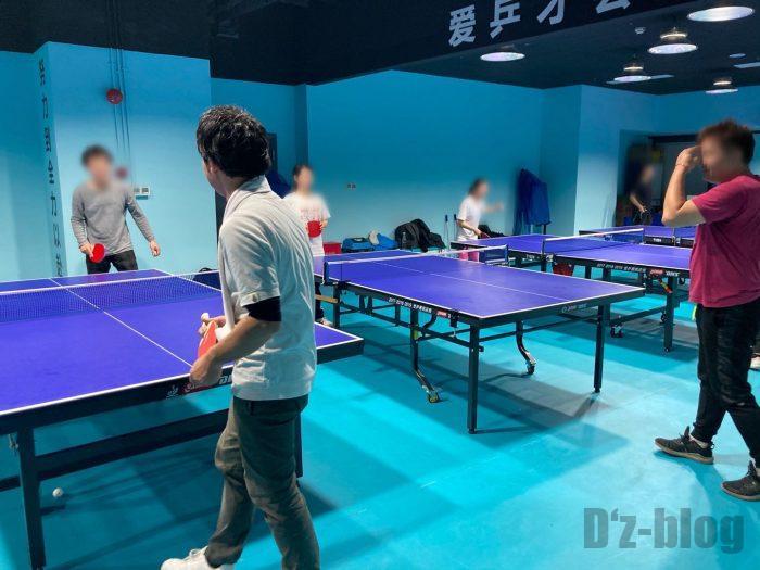 上海乒乓球俱乐部⑥