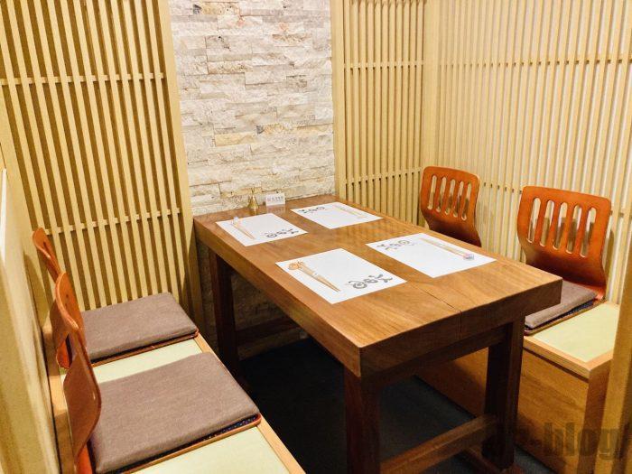 上海寿司萬個室