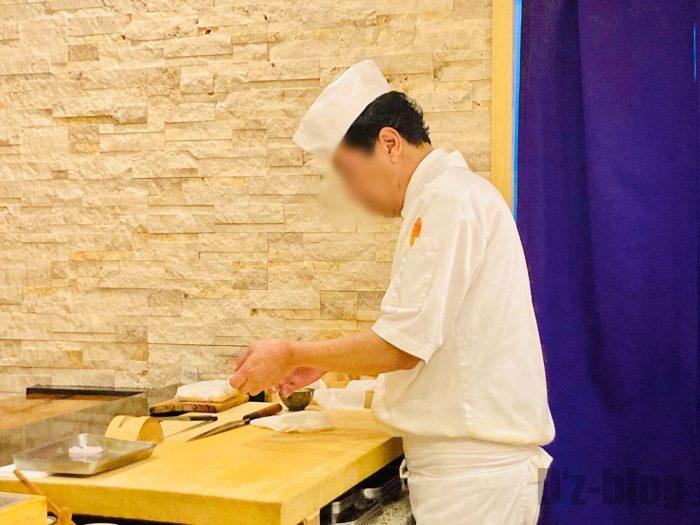 上海寿司萬板前②