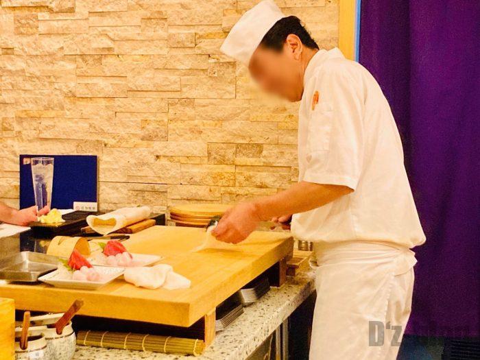 上海寿司萬板前