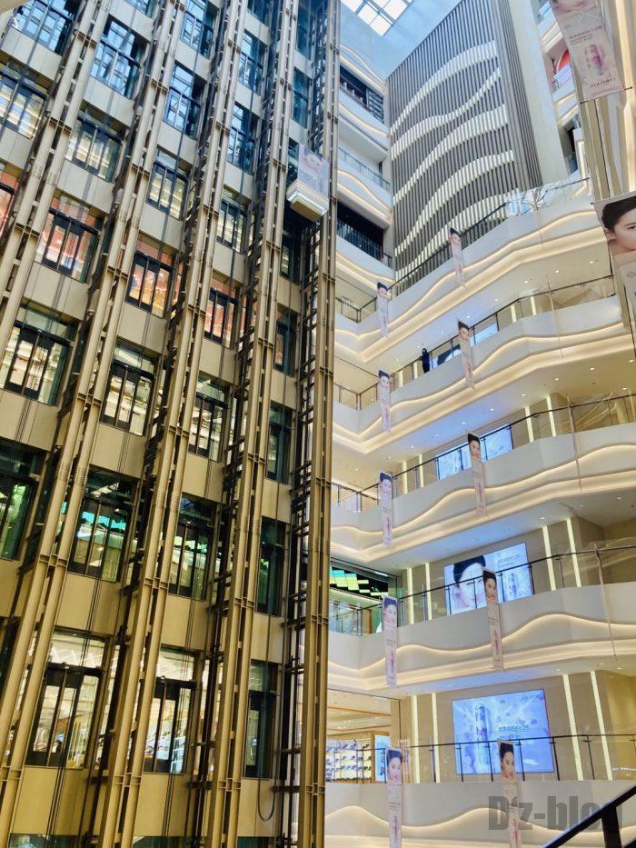 上海火影忍者世界新世界館内