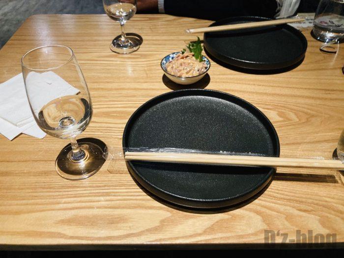 上海酒暖人間テーブルセット