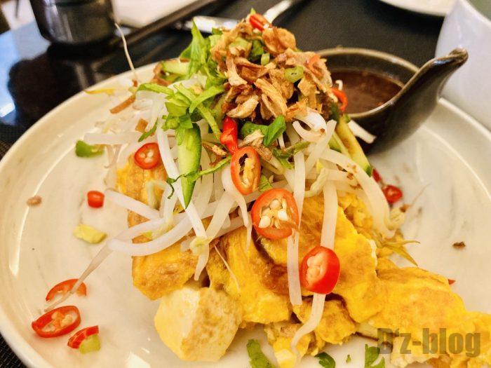 上海THEPAWON玉子と豆腐の炒め物