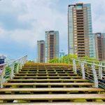 上海科技館周辺橋