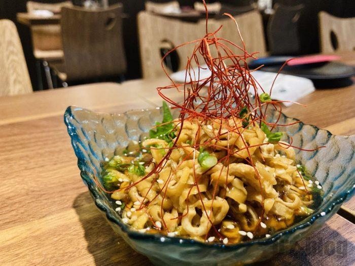 上海たけお鶏皮ポン酢