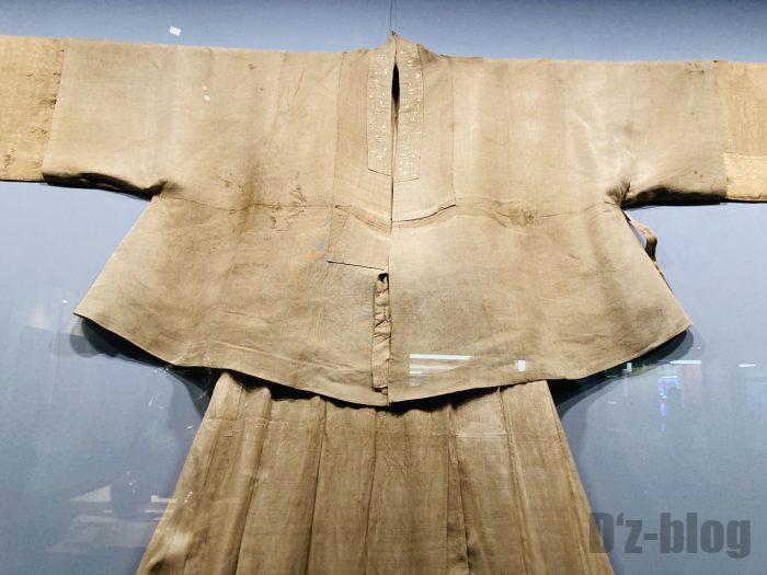 上海市歴史博物館衣服歴史⑭