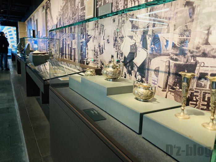 上海市歴史博物館4階近代上海⑤