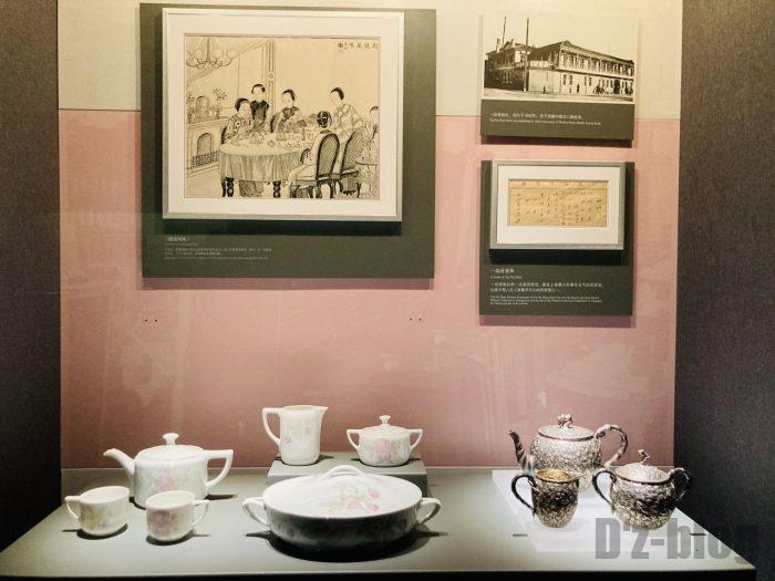 上海市歴史博物館4階近代上海⑲