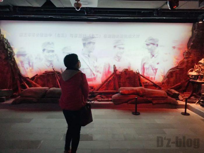 上海市歴史博物館4階近代上海㉔