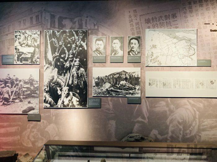 上海市歴史博物館4階近代上海㉕