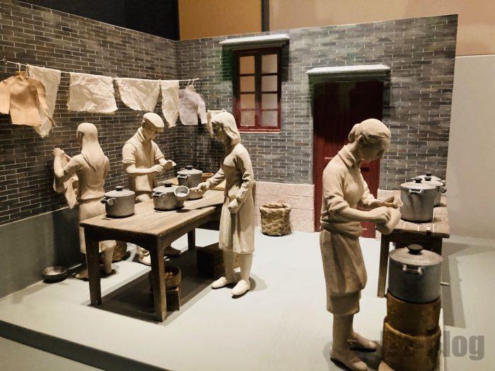 上海市歴史博物館4階近代上海㊵