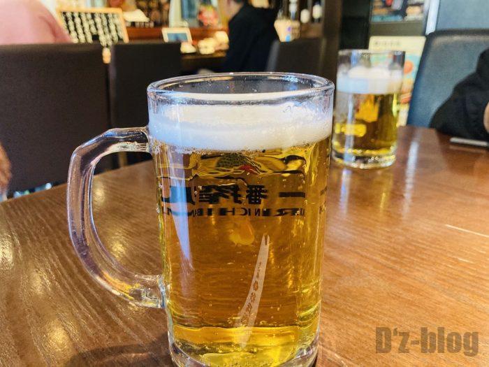 上海紋兵衛ランチキリンビール