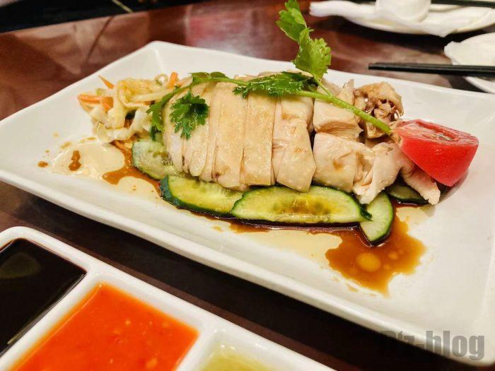 上海钨节路新加坡餐厅海南鸡