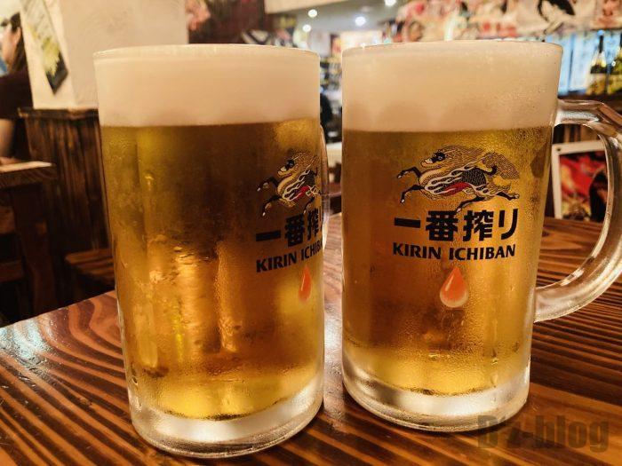 上海鳥炭生ビール