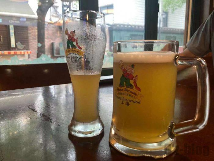 PAPAS BIERSTUBEビール